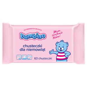 Chusteczki nawilżane BAMBIBO 63szt.