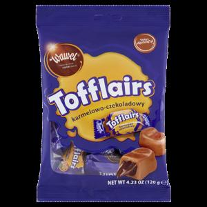 Cukierki mleczne Tofflairs 120g