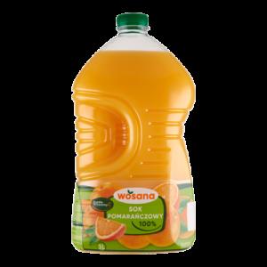 Sok pomarańczowy Wosana 3l