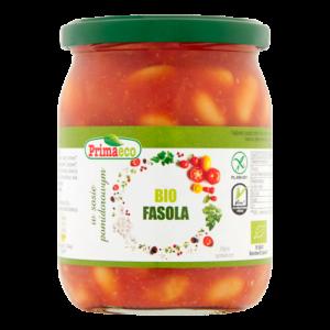 Fasola lubcieciorka wsosie pomidorowym Primaeco 440g