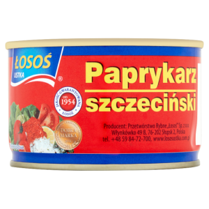 Paprykarz szczeciński łosoś, 170g