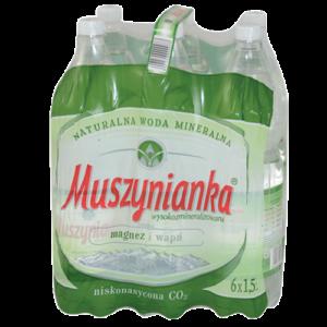 Woda mineralna Muszynianka 6×1,5l