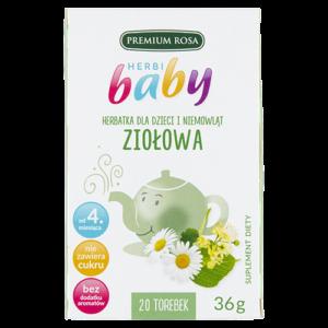 Herbata dladzieci Herbi Baby 36-40g