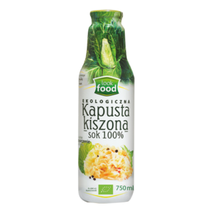 Sok zogórka kiszonego lubkapusty kiszonej LOOK FOOD 750ml