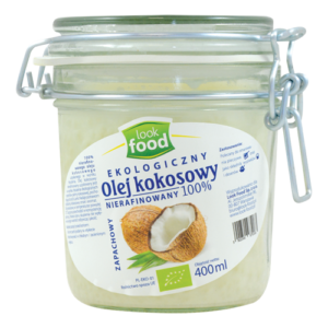 Olej kokosowy LOOK FOOD 400ml
