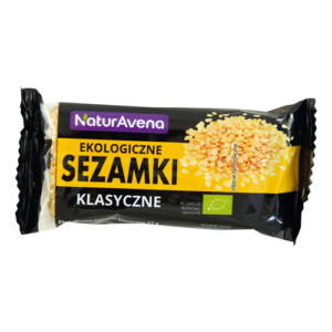 Sezamki ekologiczne NATURAVENA 27g