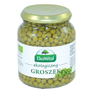 Groszek zielony wzalewie EKOWITAL 350/215g