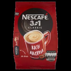 Rozpuszczalny napój kawowy Nescafe 20szt.