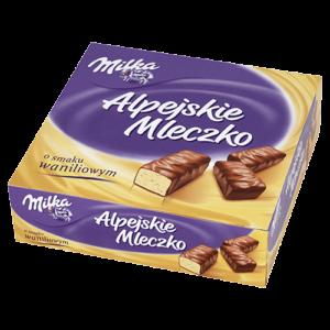 Alpejskie mleczko Milka 330-350g