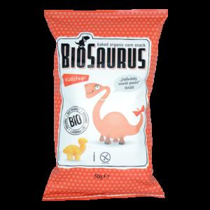 Chrupki kukurydziane Biosaurus 50g