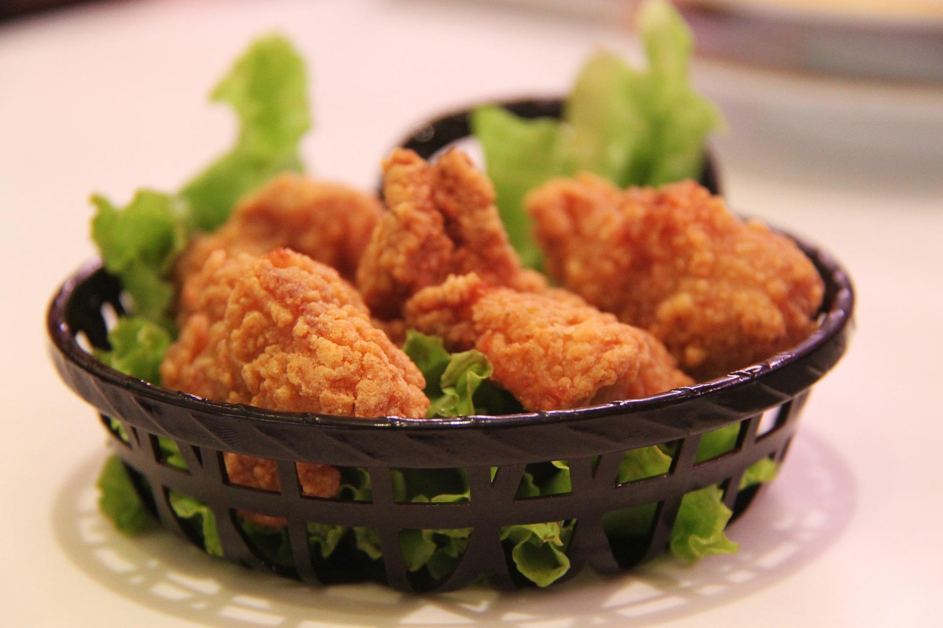 Kurczak wpłatkach kukurydzianych